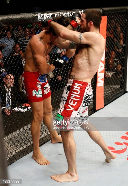 Matt Brown vs Erick Silva