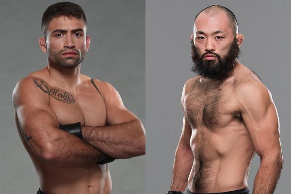 O brasileiro Luan Chagas e o japonês Shinsho Anzai se enfrentarão em Brasília (Foto: Zuffa LLC / UFC)