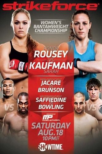 Cartaz do Strikeforce: Rousey vs. Kaufman (Foto: Wikipedia)