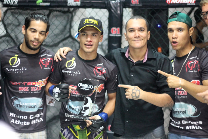 Brabos Combat Fight Night - Nocaute na Rede