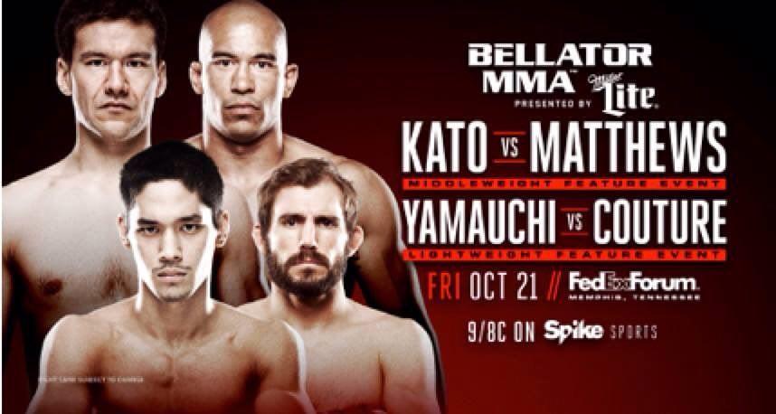 Goiti enfrentará Ryan Couture em 21 de outubro pelo Bellator (Fonte: Facebook pessoal do atleta).