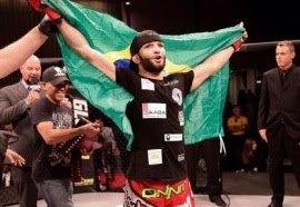 Thiago Moisés disputa cinturão peso leve do LFA