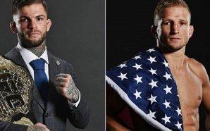 Cody Garbrandt defende cinturão dos galos contra TJ Dillashaw no…