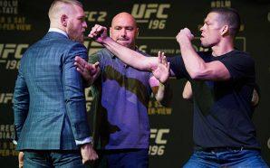 Dana White diz que trilogia entre McGregor e Nate Diaz…