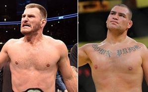 Miocic pode defender o cinturão contra Cain Velasquez no UFC…