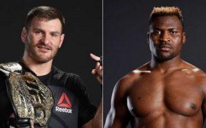 Stipe Miocic defende cinturão contra Francis N'Gannou no UFC 220,…