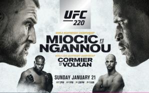 Previa UFC 220: Miocic vs Ngannou
