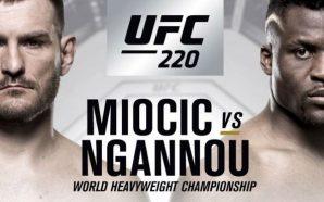 Nocaute na rede picks #116 / UFC 220: Miocic x…