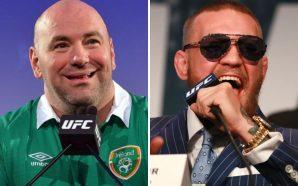 Dana White confirma que Conor McGregor será destituído do cinturão