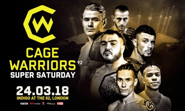 Cage Warriors 92 mma international
