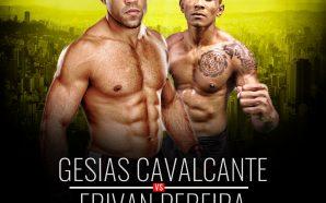 Gesias Cavalcante fará sua primeira luta no Brasil pelo Brave…