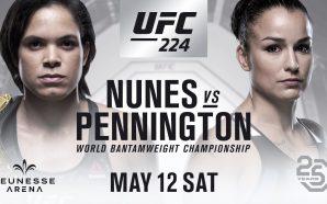 Ultimate divulga valor dos ingressos para o UFC 224 no…
