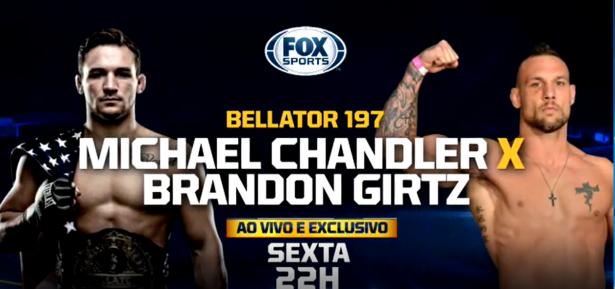 Bellator 197 Chandler vs Girtz