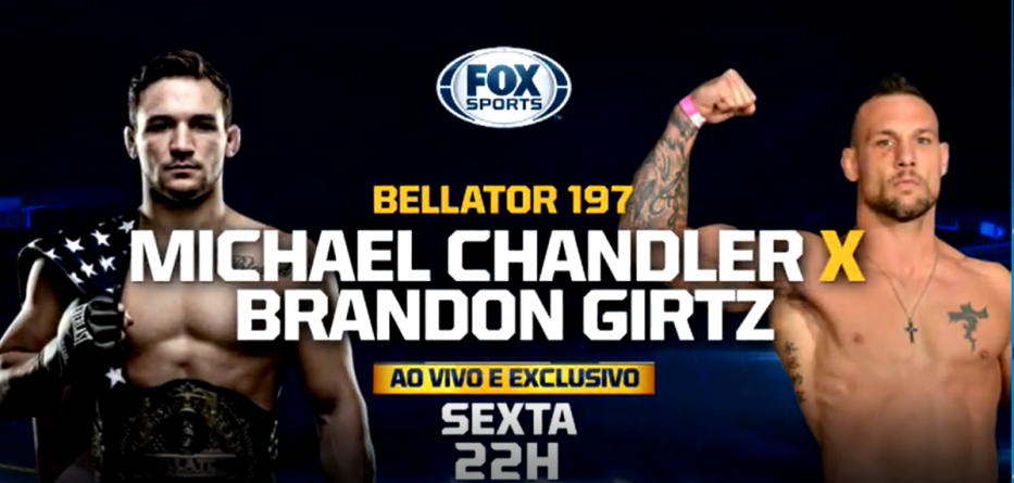 Bellator 197 Chandler vs Girtz