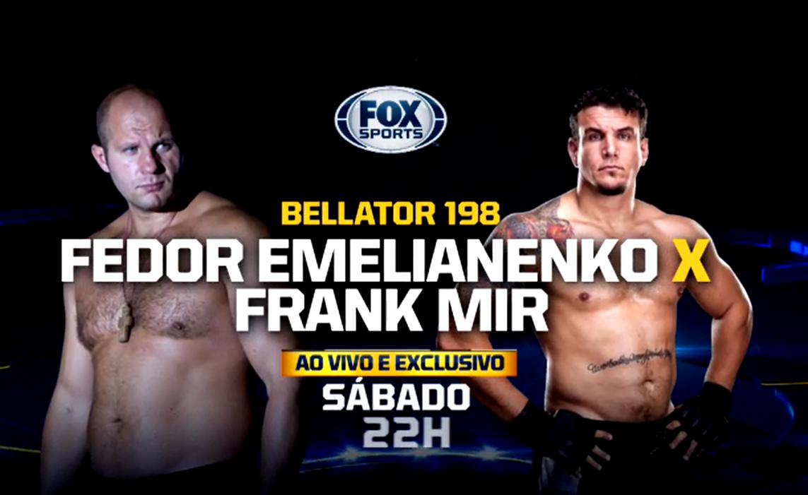 Bellator 198 Fedor vs Mir