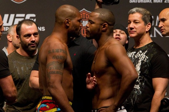Boss Level Film Rampage Jackson Rashad Evans