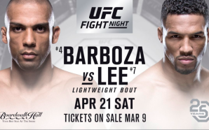 Nocaute na rede picks #126 / UFC Fight Night: Barboza…