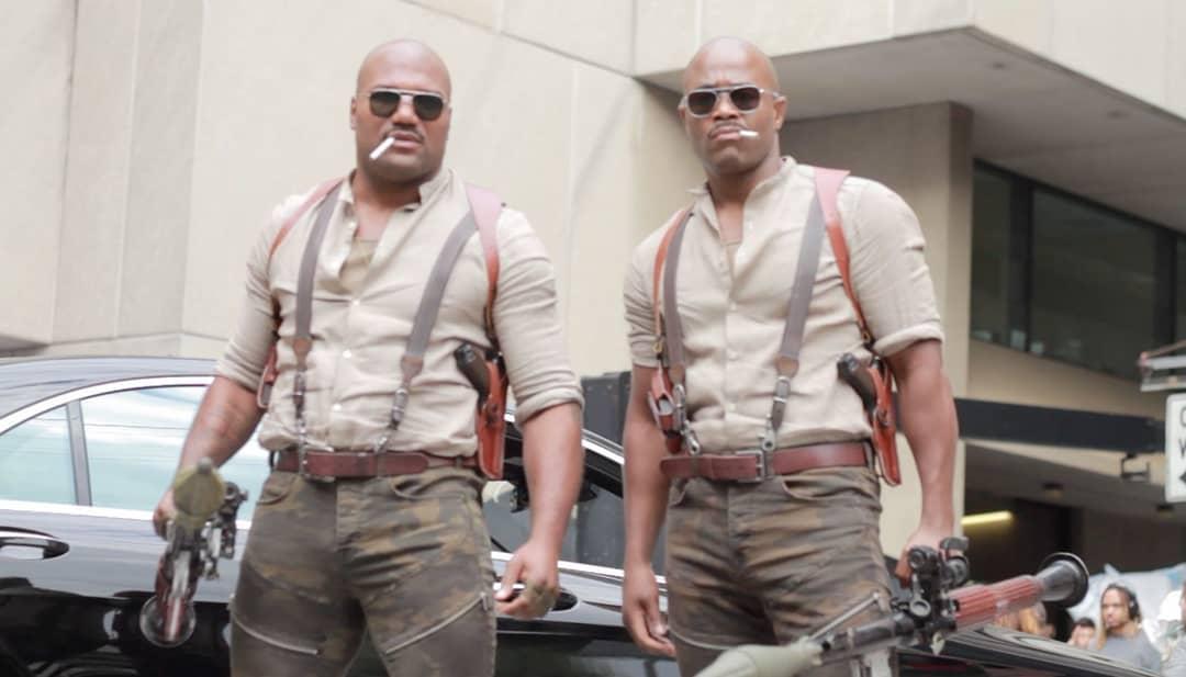 Rampage Jackson Boss Level Film