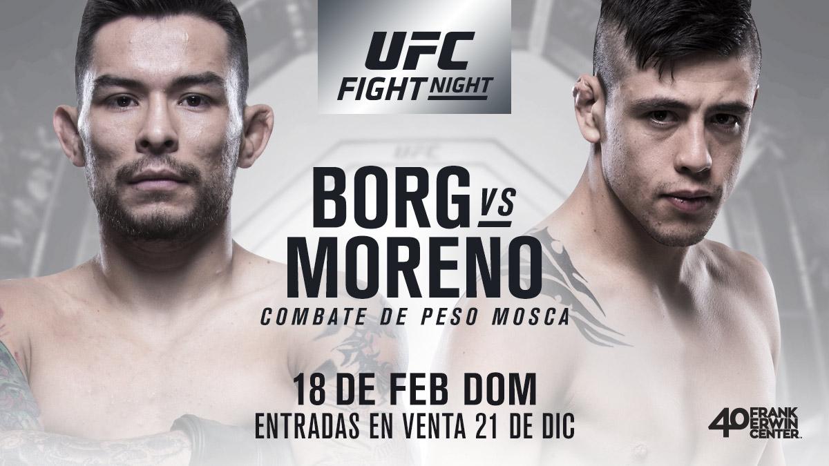 ufc 223 Ray Borg vs Brandon Moreno