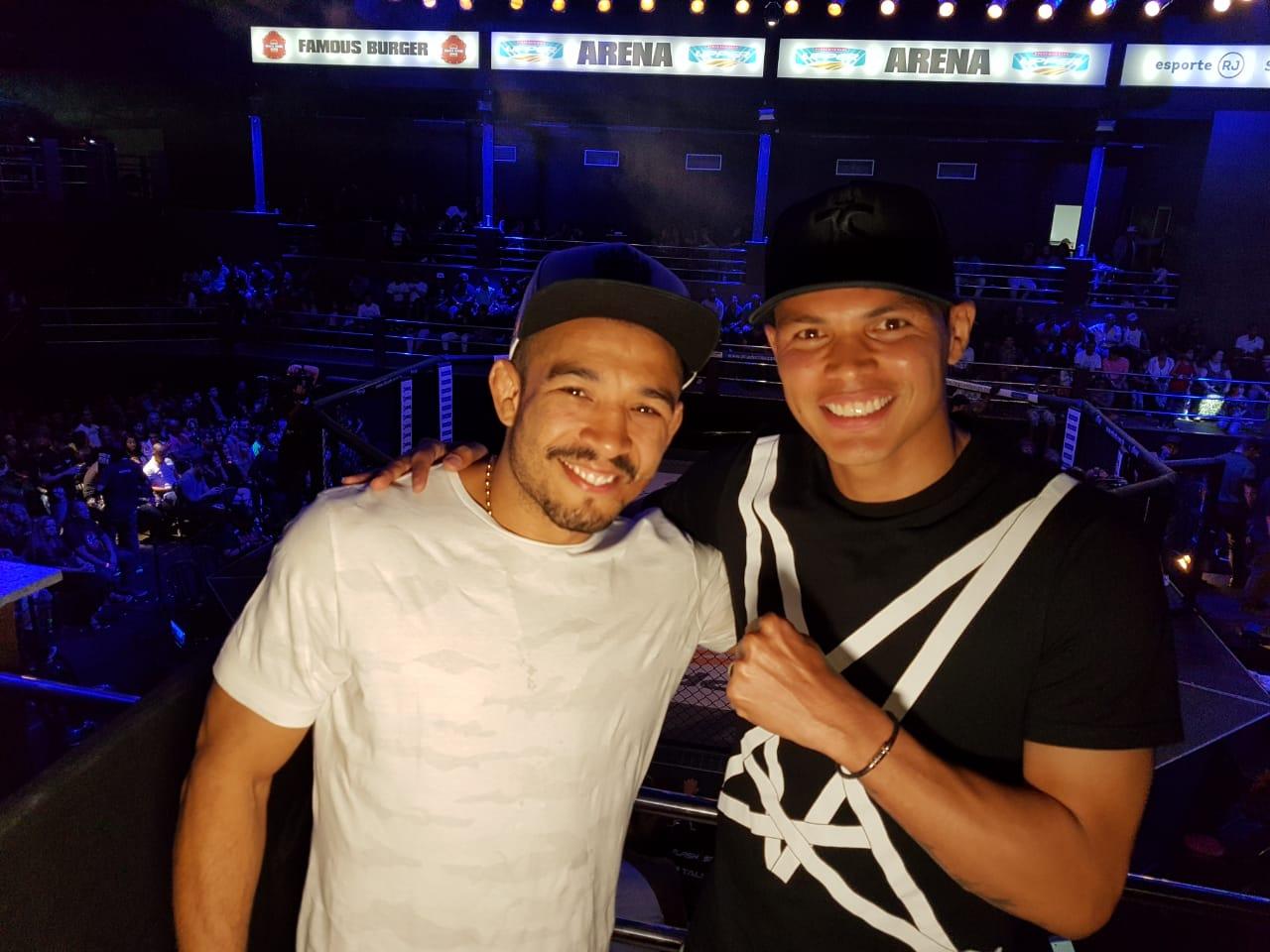 Thiago Silva e José Aldo