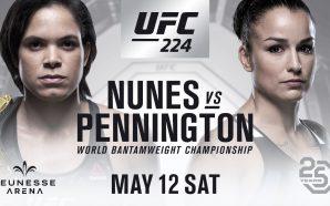 UFC 224 Amanda Nunesx Raquel Pennington
