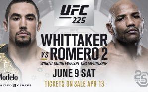 Nocaute na rede picks #131 / UFC 225: Whittaker x…