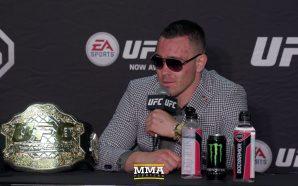 Colby Covington critica UFC por marcar luta entre Tyron Woodley…