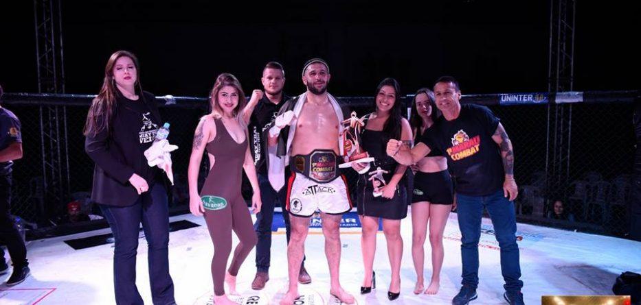 Matheus Quadros campeão Marau Combat