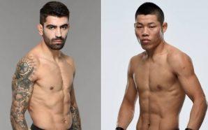 Elizeu Capoeira enfrenta Li Jingliang no UFC China