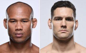 Ronaldo Jacaré substitui Rockhold e enfrenta Chris Weidman no UFC…