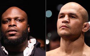 Derrick Lewis enfrenta Junior Cigano na luta principal do UFC…