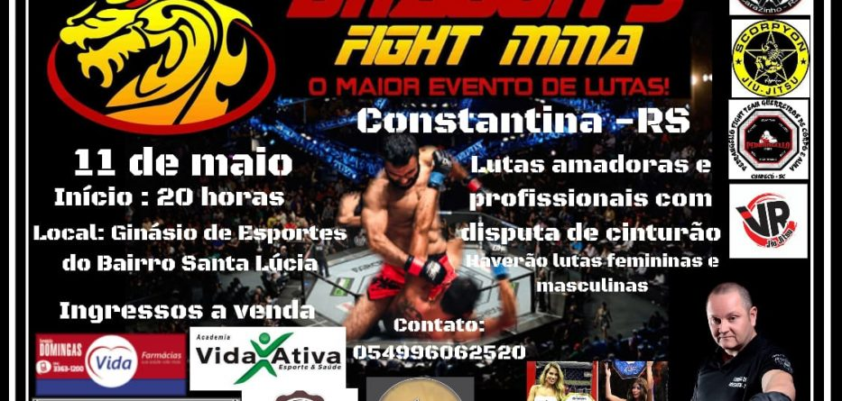 evento luta mma constantina Dragons Fight