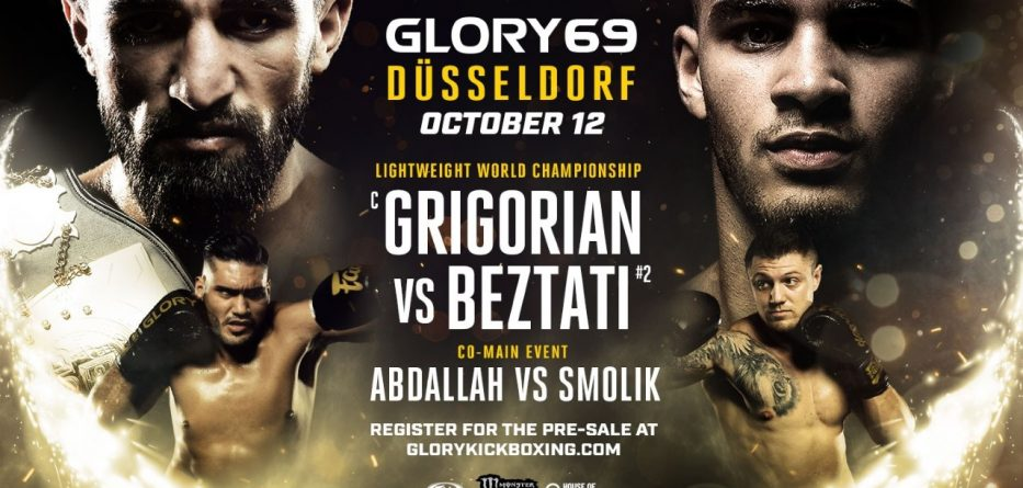 Glory 69 card poster