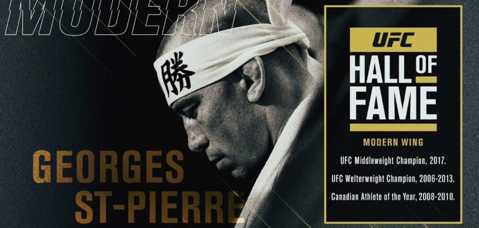 GSP é incluído no Hall da Fama do UFC