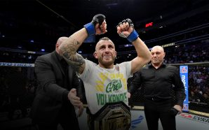 Exclusive interview with UFC featherweight world champion Alexander Volkanovski